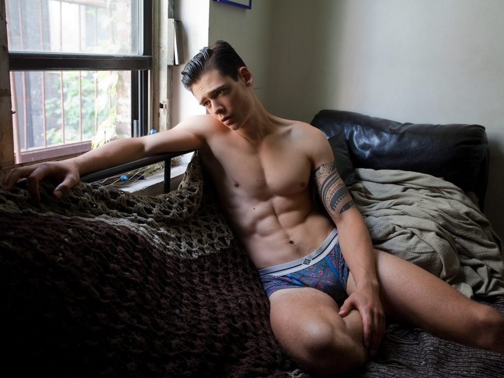 Mario Adrion was snapped by all fashion photographers in New York City, this time, he's posing for the lens of the fashion photographer Sean P. Watters.