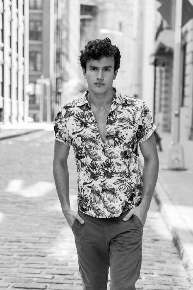 Here is William Moncada, a Colombian Talented male model represented by Wilhelmina NYC. William was discovered by photographer Juan Neira on instagram last February.