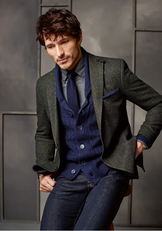 Since 1925 Carl Gross is a German men's fashion club that is distinguished by good taste and quality in their formal suits and casual attire. This time they want to reinvent the image of the Spanish model Andrés Velencoso campaign for F / W 2015-16.