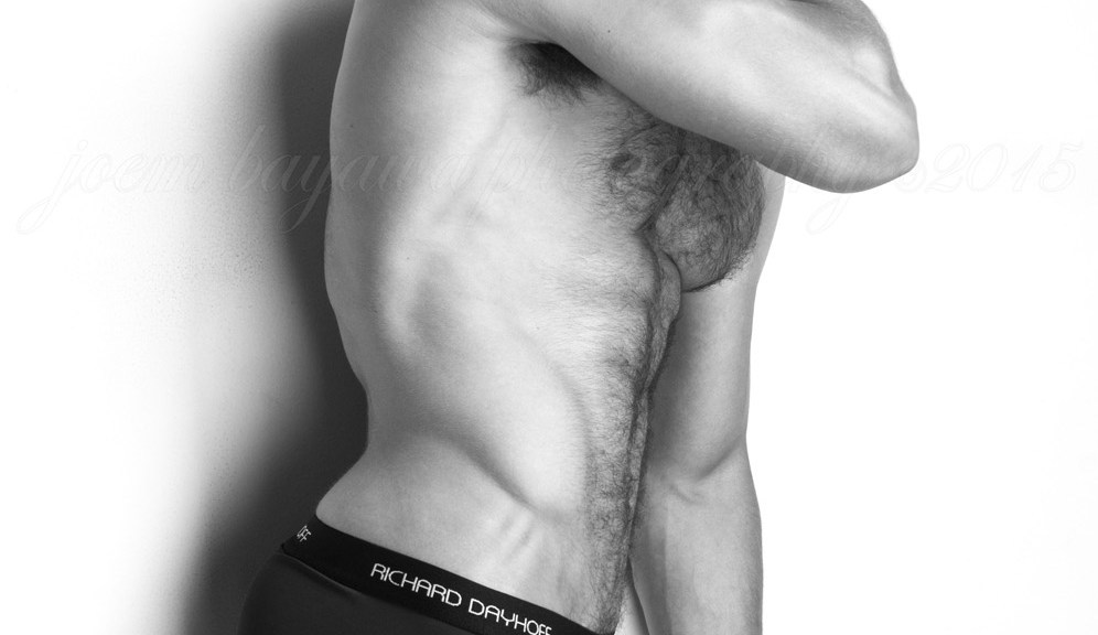 Happy Hump day with Ben Todd by Joem C. Bayawa!!!! Posing his adonis muscle male body Ben adorns our pupils in this black and white set taken by Joem C. Bayawa. Ben is represented by Crew Models International and he's wearing a RICHARD DAYHOFF® Performance Underwear on this set.