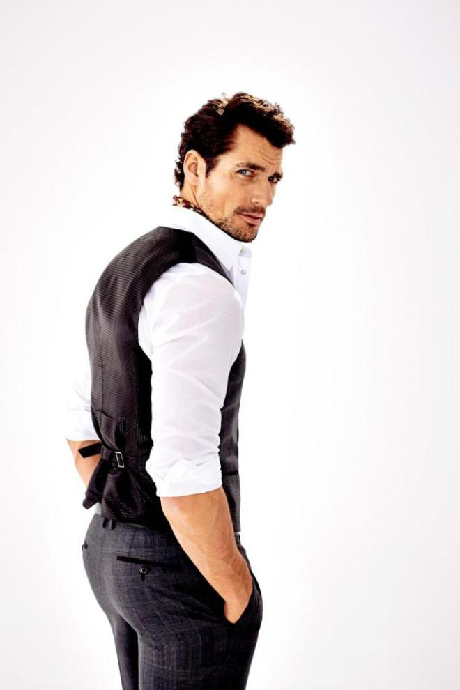 Supermodel David Gandy takes the pages of the latest edition of Italian magazine Grazia, posing for a new editorial, lensed by photographer Esther Haase. Lending his unique and charming features for sophisticated images, the blue-eyed model is styled by Elisabetta Cavatorta in a sharp wardrobe that emphasizes David's innate signature gentleman attitude. /Grooming by Larry King.