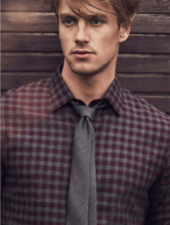 Contemporary men's sportswear Zachary Prell launches their Fall/Winter 2015 with stunning male models Norbi Novak and Dylan Armstrong with a photographer by Dean Isidro at Atelier Management Styling: Mitchell Belk and Grooming: Moiz.