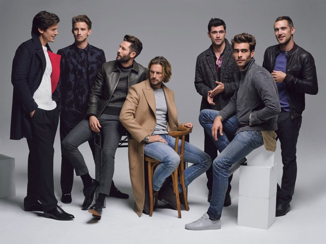 We want this so bad! 31 World's Top Male Models Cover DETAILS' September 2015 Issue. The best 31 male models all together for September 2015 Issue @detailsmag now that's a cover!