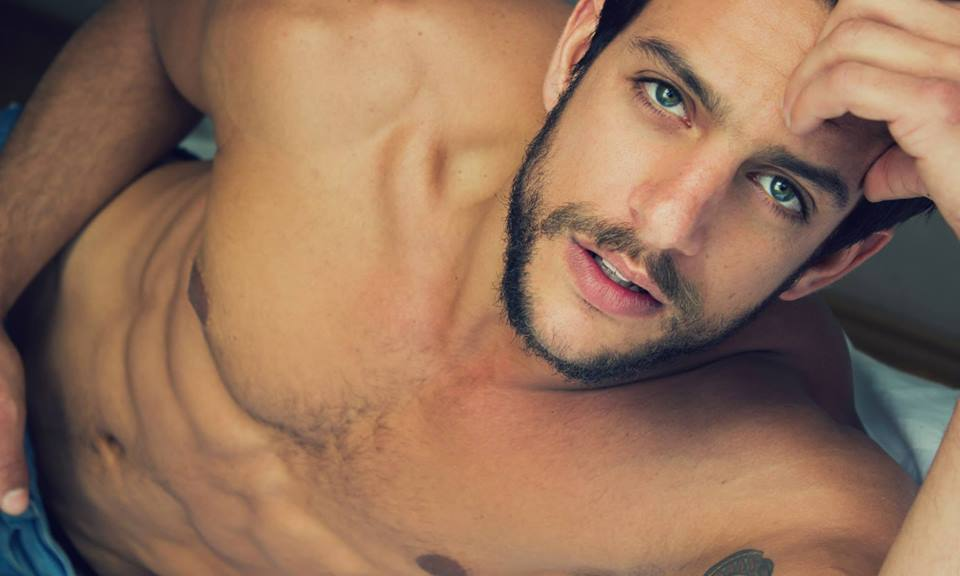 """Bronze skin, seductive look and perfect body here's model and actor Joaquin Ferreira from Mexico, currently he is working on the exclusive series for Netflix """"Todos Somos Cuervos"""" With photos from Algabo, Ozuna, Rolk Briceño, among others everybody's falling in love with this powerful and virile macho Joaquin Ferreira."""
