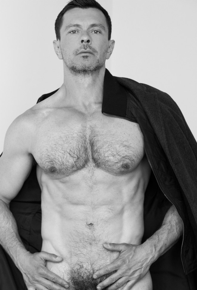 Recent shooting by Lucas Ferrier with handsome male model Manuel Franjo, styled by Kai Jankovic.