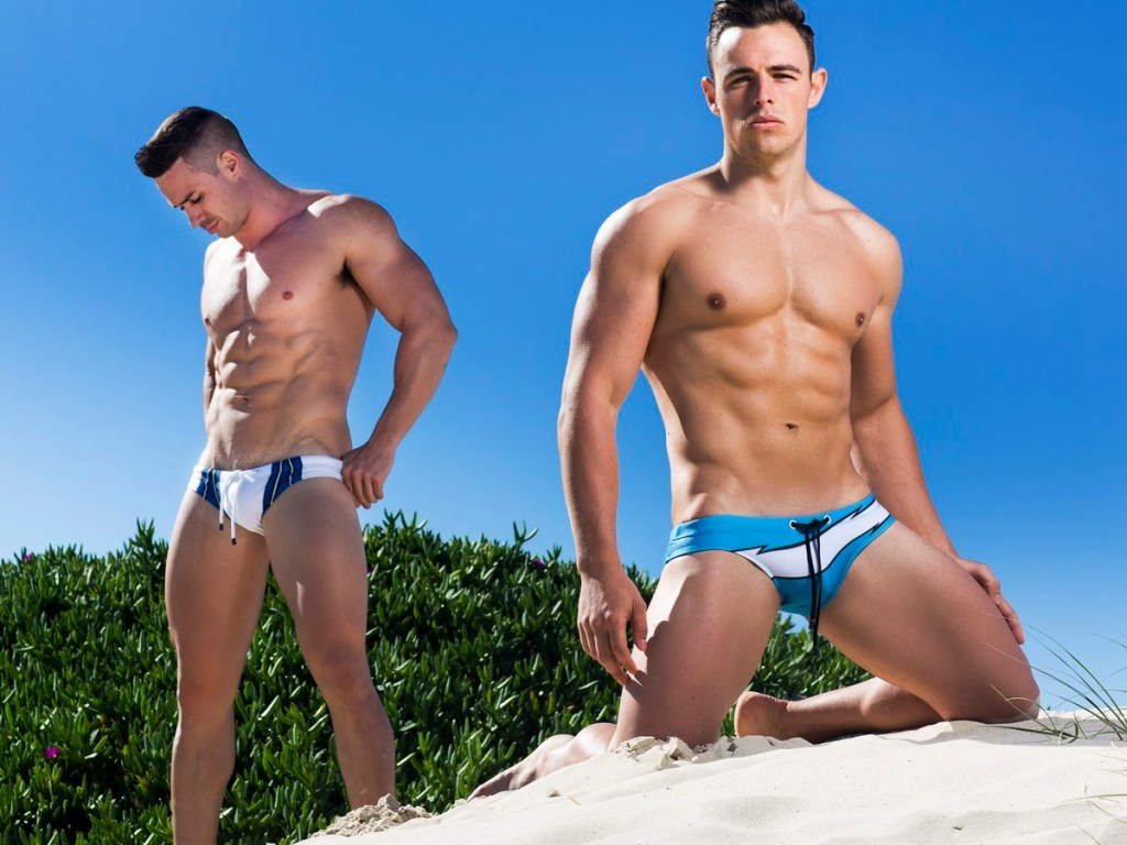 Marcuse spreading all over the world new Collection 2015 with stunning images from photographer Russell Fleming, starring by hunks Joshua Kristenson and Matt Miller, the shooting was at Gold Coast, Australia.