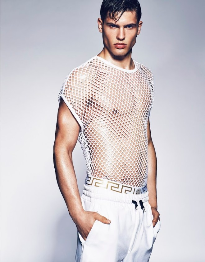 London based photographer Mark Cant took sublime shots to Miroslav Cech.