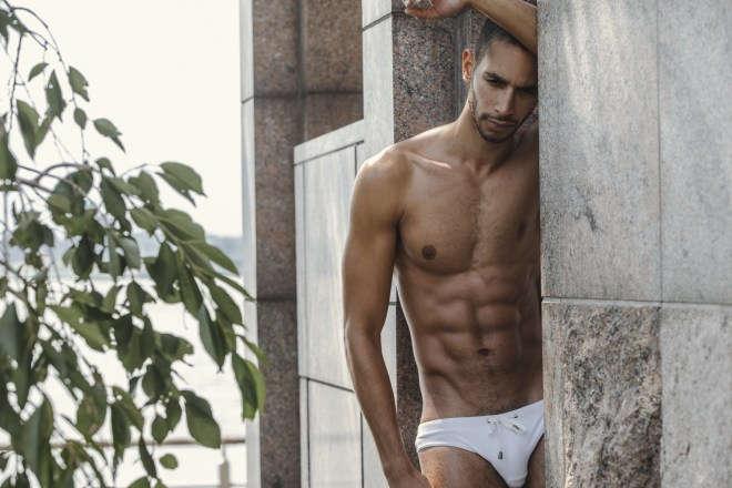 Presenting handsome male model Sergio Acevedo based in NYC and represented by RED Models posing for the lens of HardCiderNY.