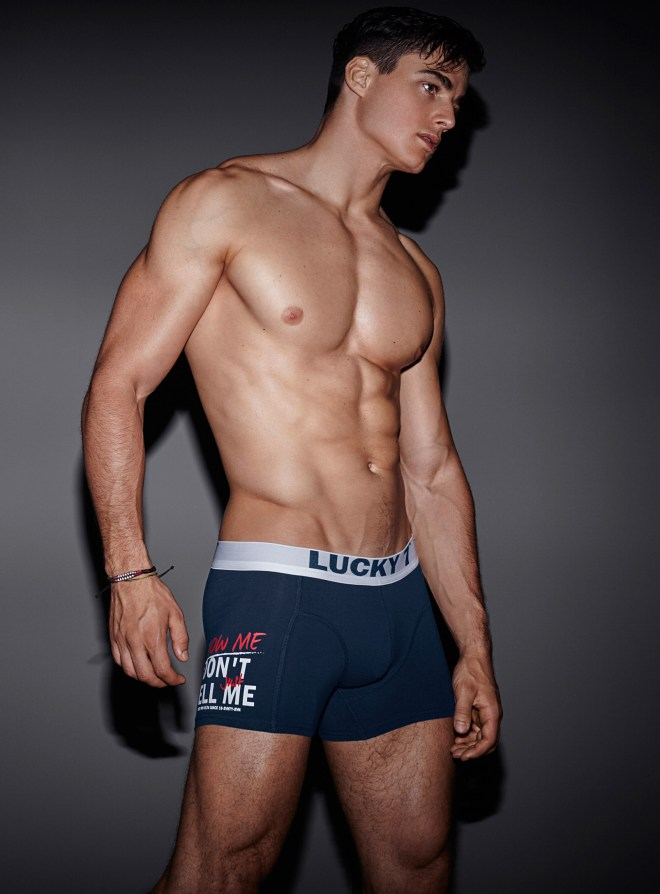 "Simons ""New for back to school"" Underwear Lookbook"