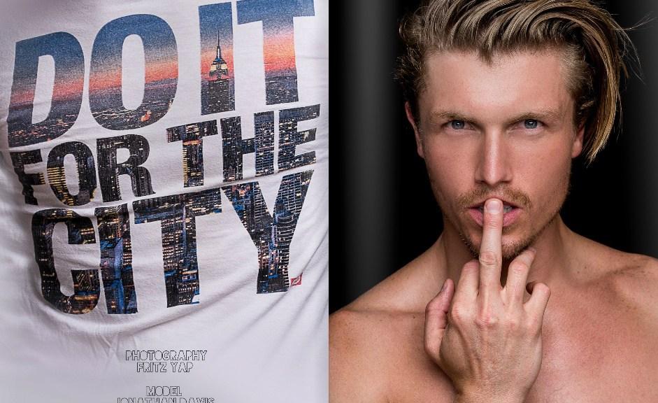 He's Jonathan Davis (Attitude Models) by Fritz Yap for Dominus Magazine.