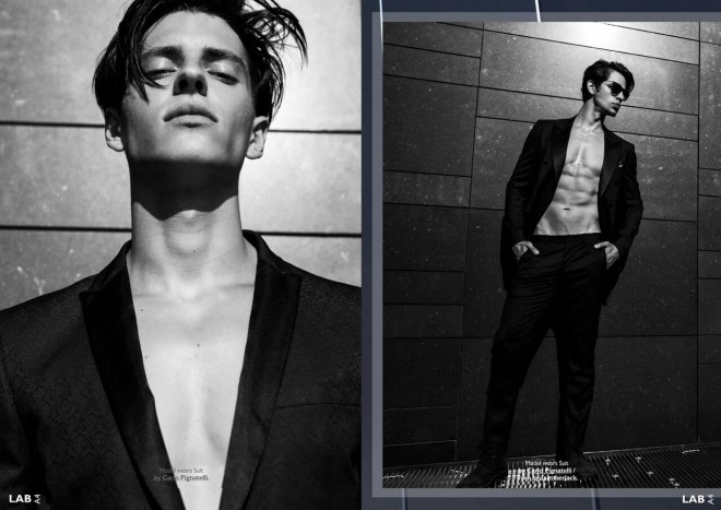 LAB A4 Online presents: Looking SKYWARD 看着.天.空 featuring models Luis Manuel Ocasio & Kris at dManagement group Photgraphed by Fernando Machado Styling by Manuel Gomez, Casting by Giorgio Ammirabile Grooming: Dakini Make Up.
