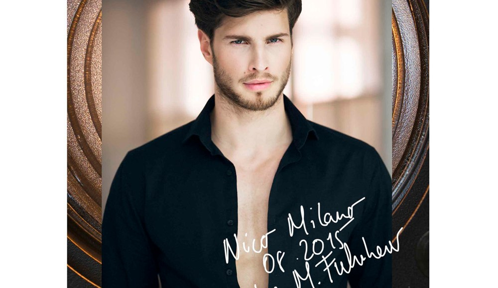 This is Nico Milano a 24 yo model lensed by Mirko Fuhrherr