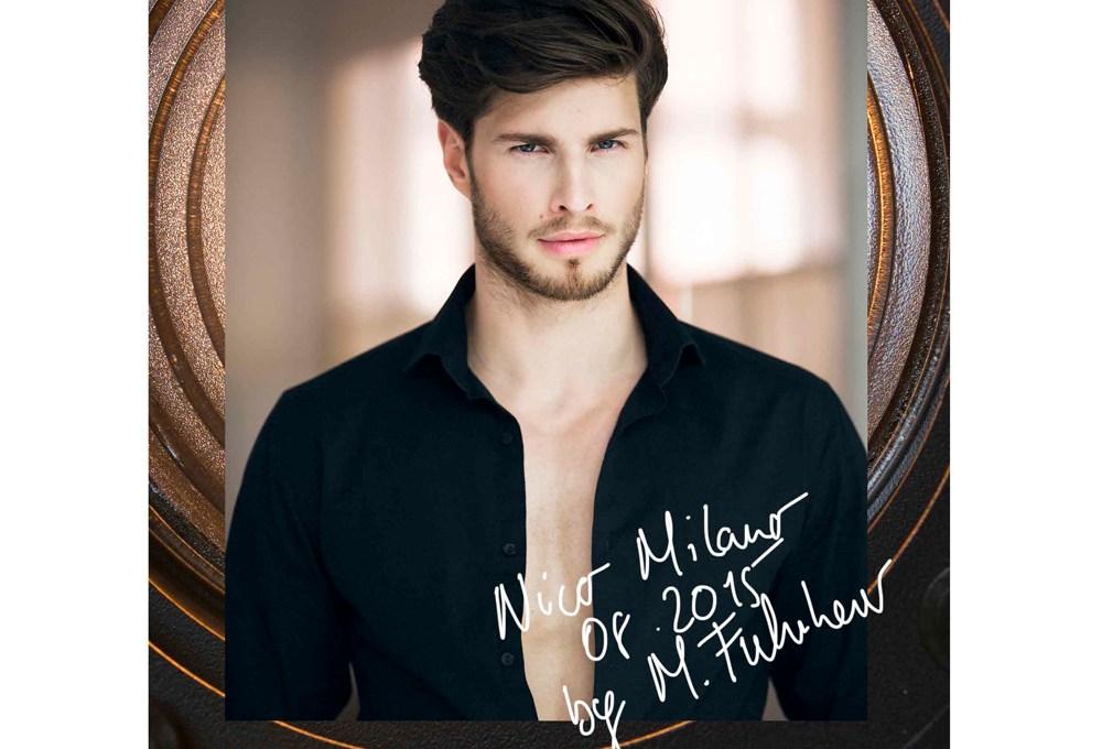 This is Nico Milano a 24 yo model lensed by Mirko Fuhrherr