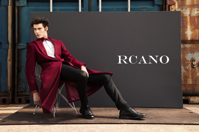 Excited to present RCANO 'cause luxury fashion brand launched this week a new global advertising Campaign for Fall/Winter 2015 and Fashionably Male, has the honor to present to all our viewers. This campaign highlights divine original idea of two sophisticated men wearing minimalistic yet modern clothes in a contrasting industrial scenario, RCANO's new collection is based on fresher, contemporary and cleaner patterns with a mix of edgy and unconventional designs.