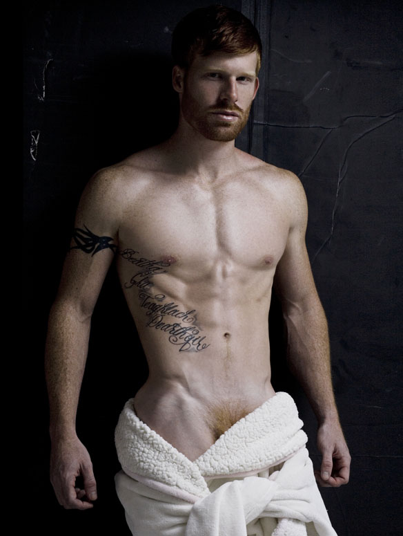 Ryan White comes back to our screens and showing off his fit body portrayed by Rick Day.