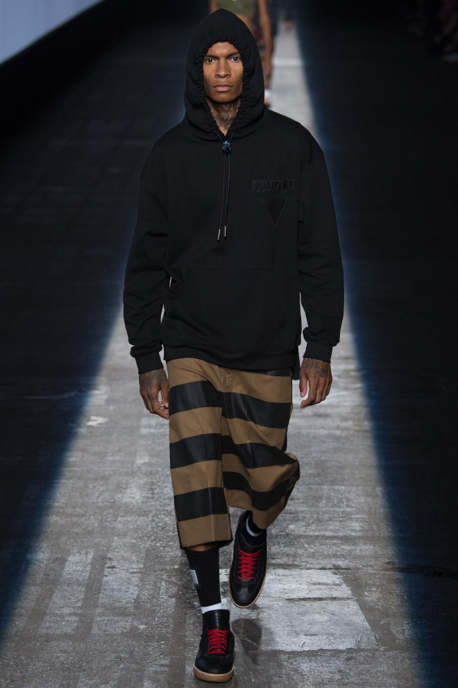 Alexander Wang has always loved a bash, and for his 10th anniversary collection tonight he threw himself a big one.