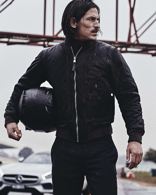 Favorited top male model Jarrod Scott fronts new editorial for GQ Australia Issue November 2015 shot by Jake Terrey, styled by Kelly