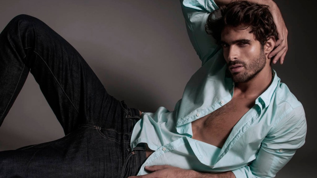 Portraying handsome male model (Sight Management) Juan Betancourt by Charl Marais.