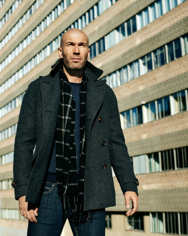 Zidane is back Introducing our most urban line where blue, grey and black conform the predominating color palette of a contemporary and versatile collection. Discover the collection here: http://mng.us/1JCxU0N  #ZidaneforMANGO