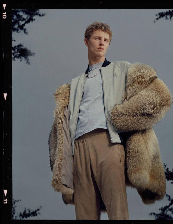 "Quand les codes sportswear et un frisson de cool libèrent l'allure. ""Montmartre"" presented at Vogue Hommes Trends section F/W 2015-16 issue shot by Mark Peckmezian and styled by Ylias Nacer."