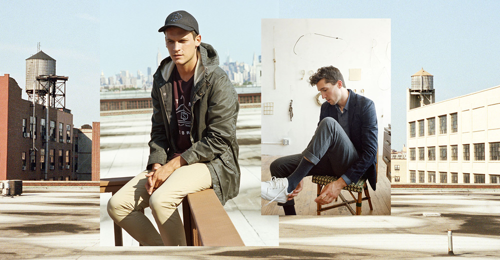 Pull&Bear presents warmer fabrics and colours for men's easy, contemporary autumn outfits. Where quality designs, updated fittings and neat finish result in easy outfits for men's everyday challenges. You can see the first editorial here. Photographer: Clement Pascal Stylist: Borja Vilas