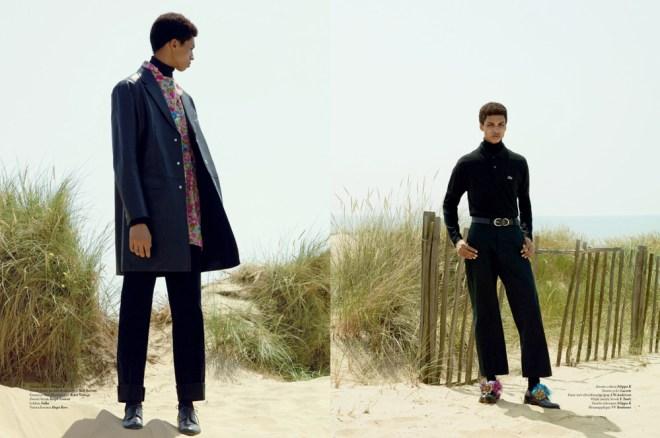 L'Officiel Hommes Netherlands Photographer: Nik Hartley Stylist: Way Perry