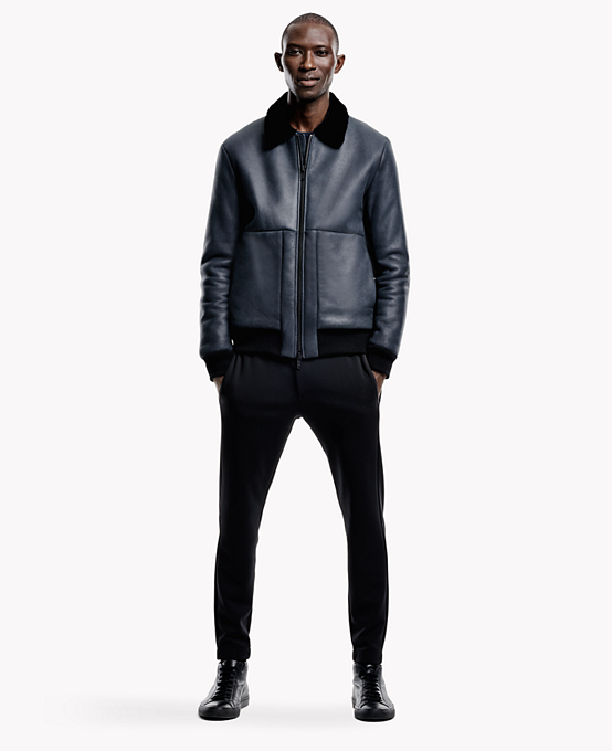 Theory The October Edit Coat Menswear Collection010