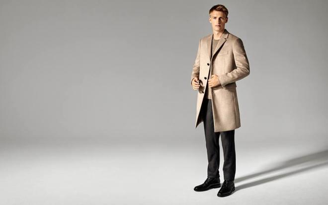 Men's coats - explore moto-inspired shearling and tailored topcoats.