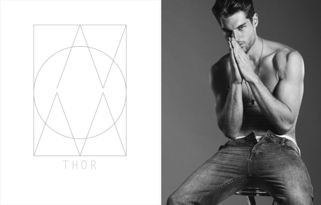 Kult Models Card: Thor Henriks