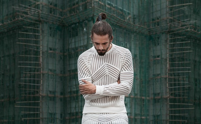 We have the new shots from the image campaign for the Men's streetwear brand MASS by designer Mass Luciano, who is based out of Hong Kong, stunning images taken by photographer Antoni d'Esterre.