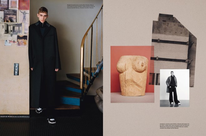 I found this very interesting si available at Another Man F/W 15.16 Photographer is Ben Toms and Stylist: Robbie Spencer.
