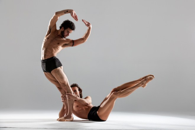 We really feel so lucky to have this dope exclusive submission by Spanish photographer Joan Crisol, he always has been a rebel and provocateur, capturing sexiness and homo erotic sensual images, but when he's working so damn good, technically and artistically. Capturing a dance form between two guys Dorian & Josue gives everything in from of his lens.