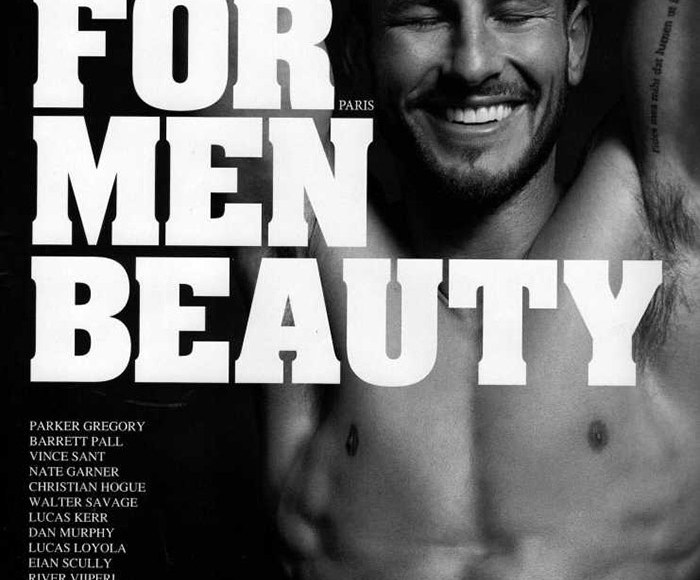 Photographer Milan Vukmirovic turns his attention to models Juan Betancourt, River Viiperi, Parker Gregory, Barrett Pall, Vince Sant, Nate Garner, Christian Hogue, Walter Savage, Lucas Kerr, Dan Murphy, Lucas Loyola, Eian Scully, Matthew Noszka, Seth Kuhlmann and Julian Schneyder for a beauty story in the most recent edition of Fashion For Men #RETURNOFTHEMALESUPERMODEL. Going nude or shirtless in underwear, the models portray modern male beauty with essential black & white portraits.