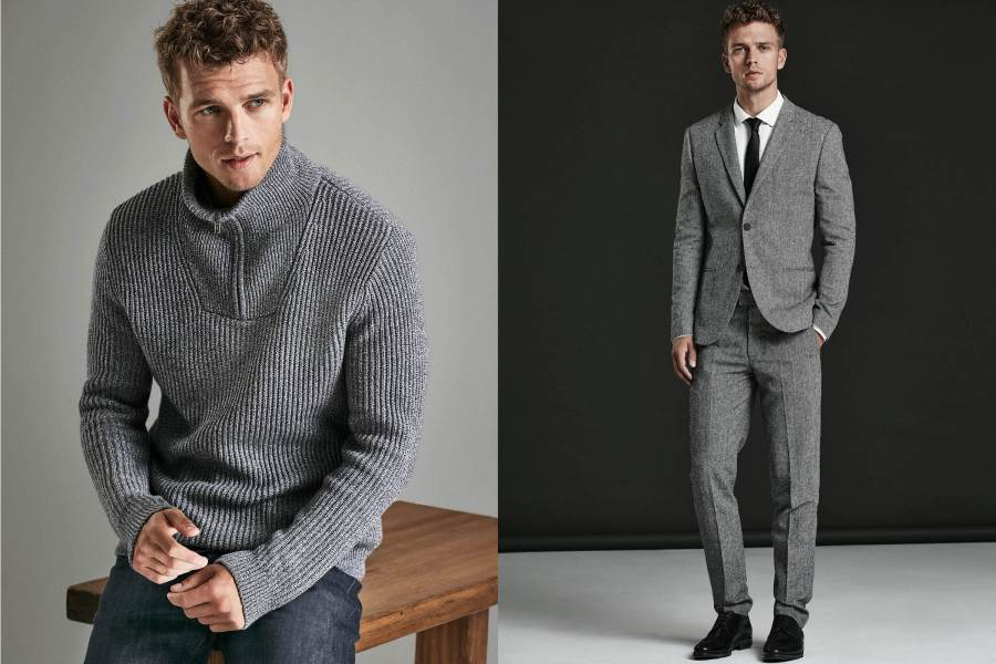 H&M Men Winter 2015, portraying by male model Benjamin Eidem. I just noticed that he has had a campaign every season since his debut. Hope he keeps it up!