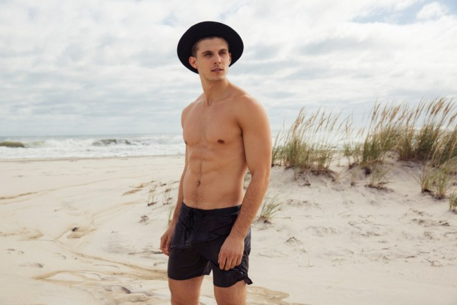MSA Models Grant Gulla in killer shots for Rufskin, snapped by Gabe Ayala.