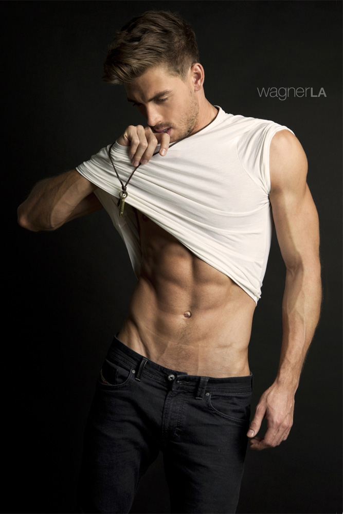 He's Dima Gornovskyi in a photography by David Wagner973