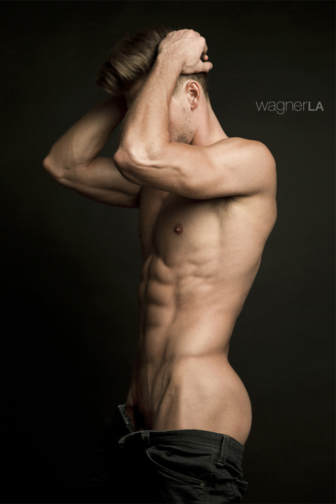He's Dima Gornovskyi in a photography by David Wagner976