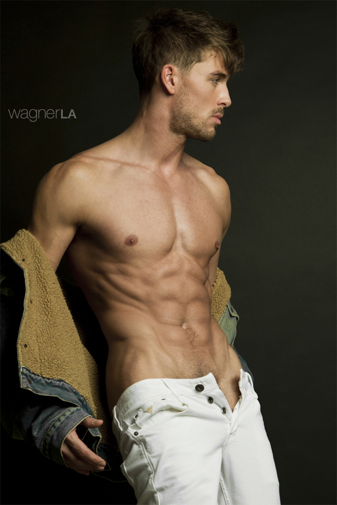 He was born in Ukraine and now he lives in Los Angeles, CA stunner Dima Gornovskyi at Wilhelmina LA exudes masculinity and charm in a new shoot by photographer David Wagner.