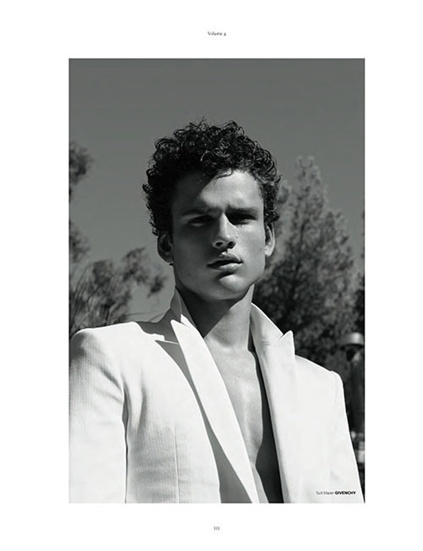 Simon Nessman is the cover star of At Large079