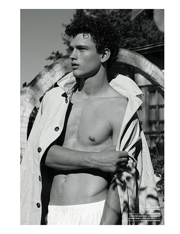 Simon Nessman is the cover star of At Large086
