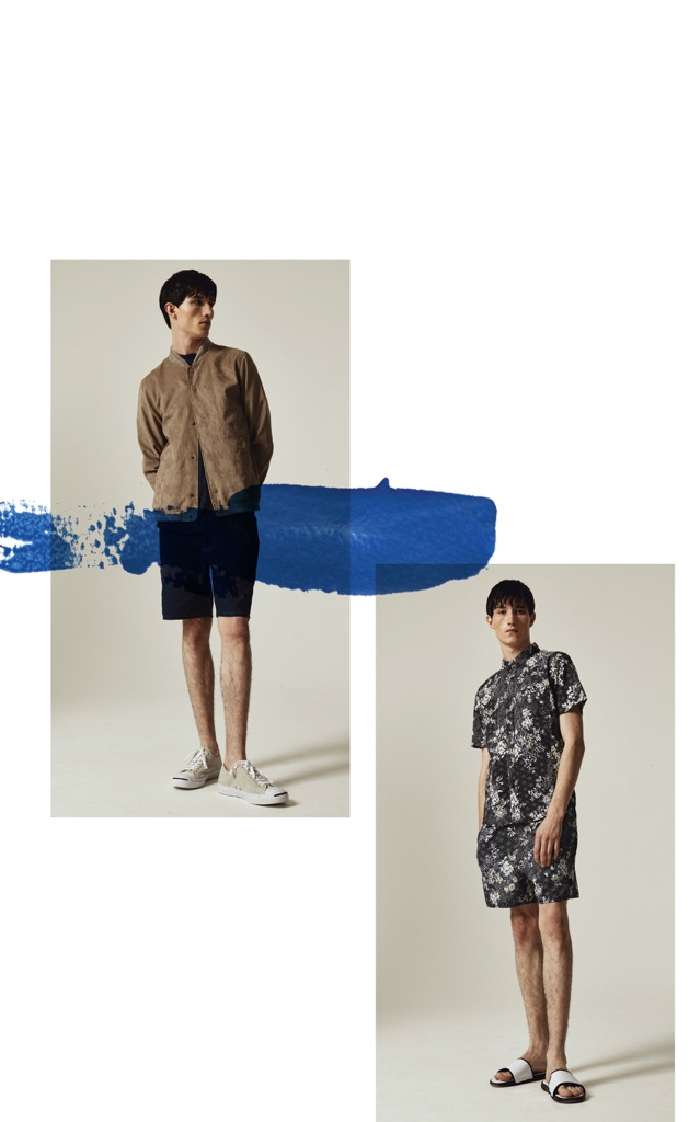 The Native Youth Spring Summer 2016 collection takes inspiration from the Impressionist artistic movement. Mark making, abstract and hand drawn style techniques are exhibited throughout prints and colour pops within the collection.