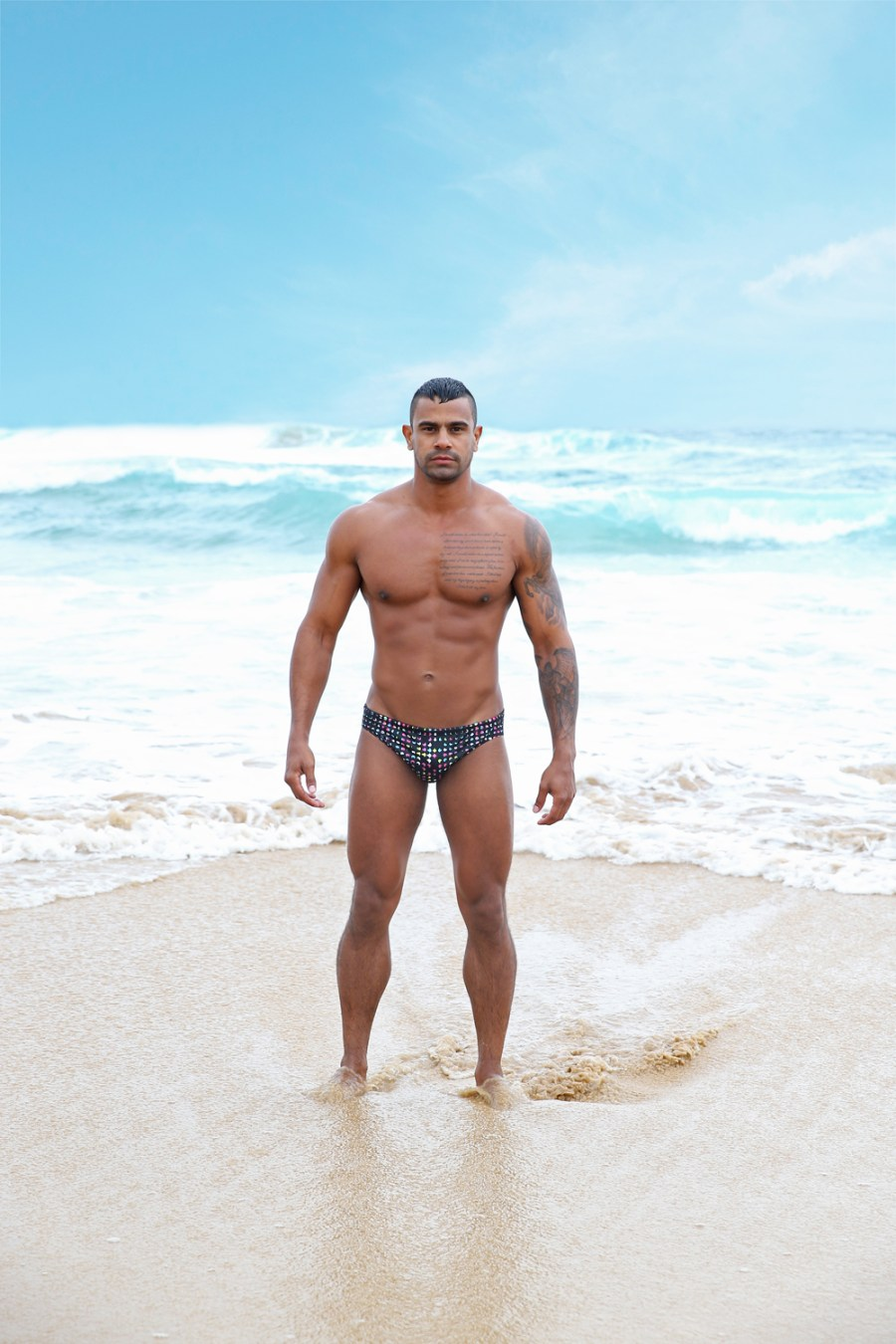 The new fresh shots of Casey Conway promoting new collection from Aussie swimwear brand Sluggers are here to stay. Sluggers is taking you to comfortness, security with original designs ready for you.