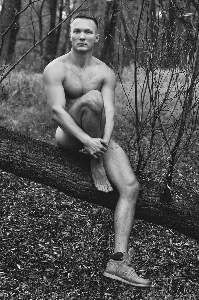 For the second part, here's Polish model Karl Bloss in sexy portrait shootin by CES Photography.