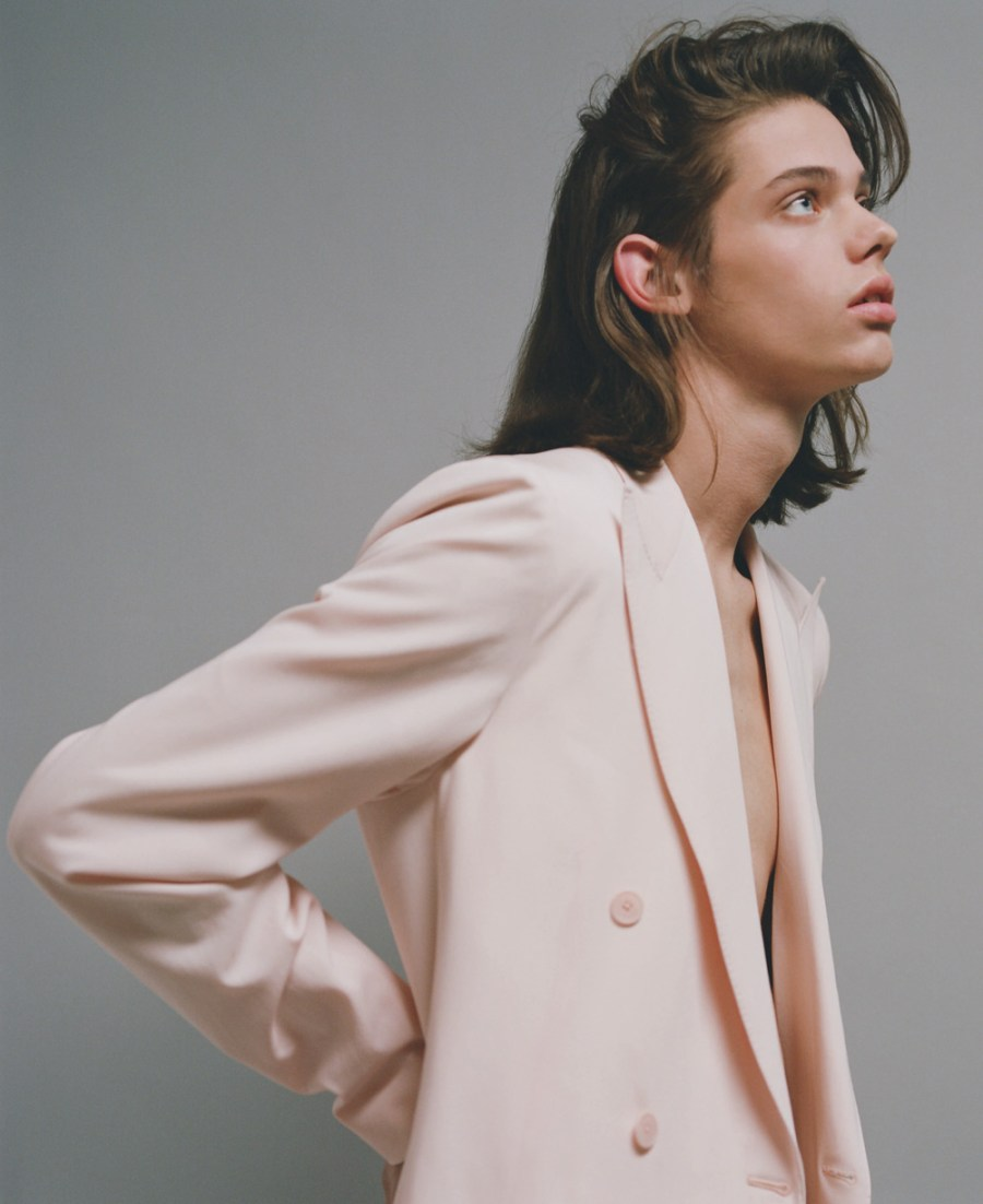 Living on my own with model Erin Mommsen @Re:quest, shot by Maurizio Bavutti @ChrisBoals and Fashion Editor Matthew Marden
