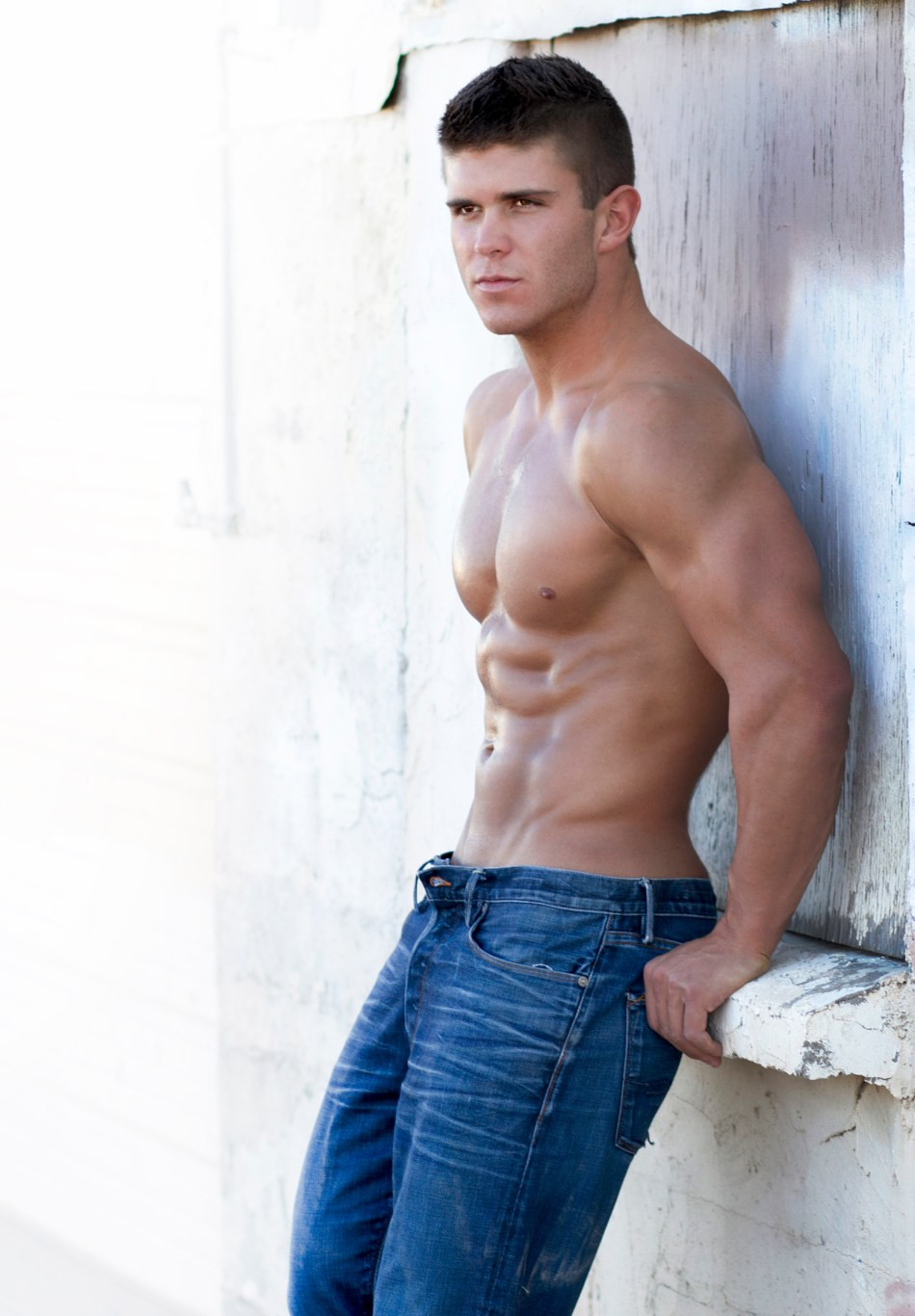 Here's something special for all you fitness model lovers – sexy hunk Shane Smith by Rob Kristian in some previously unreleased images. As they both reside in Phoenix, Arizona, photographer Rob Kristian has photographed Shane some five times. The pictorial below shows photos over the years from various shoots.