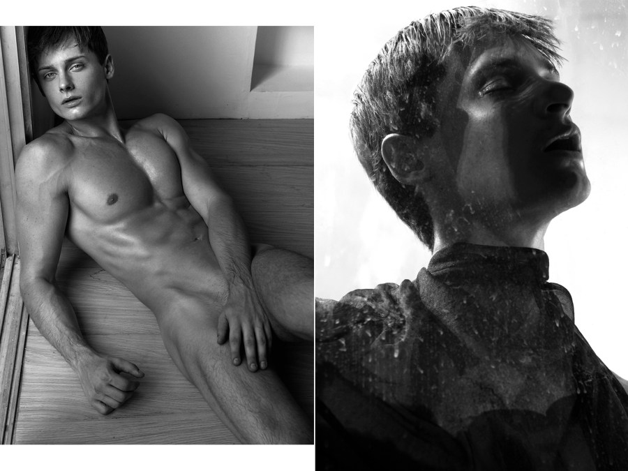 Desnudo Magazine Issue 1 is out now! Exploring male figures unique aesthetic form and sensuality in erotic images contributed with famous and known photographers. Here's featuring the full cover and story by Manny Fontanelle with model Andrew Agat of Backstage Model.