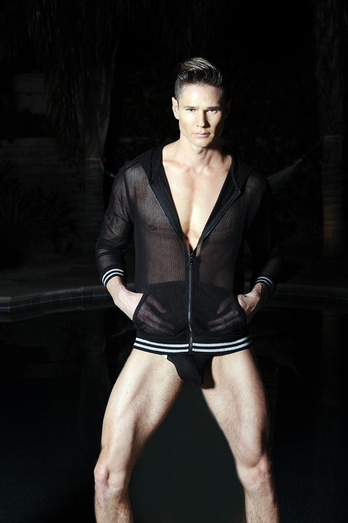 Dustin Distenfield by Matthew Mitchell shooting in Palm Springs