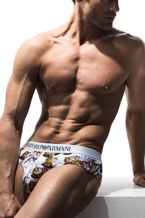 Jason Morgan for Emporio Armani Underwear Catalogue 2016 (3)