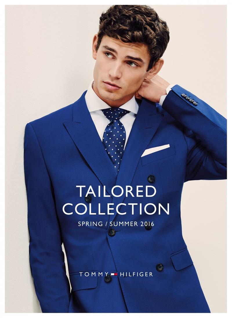 Tommy Hilfiger releases some new promotional snaps for its Catalogue/Lookbook Tailored Collection S/S 2016 leading by Arthur Gosse, photographed by Honer Akrawi.