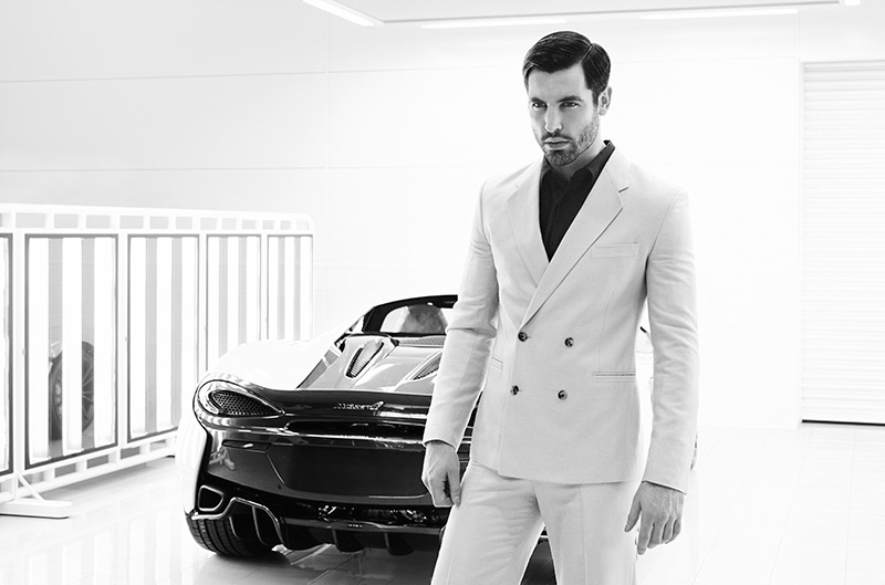 Editorial for Winq magazine for there latest issue named ''Start Your Engines'' showcases topmodel Franky from Storm Models in the McLaren Technology Center next to beautiful models from the McLaren family. Franky is wearing Dolce & Gabbana, Christopher Kane, Lou Dalton, Dior Homme, La Perla and Jonathan Christopher Homme. Shot by Florian Renner from ERA Management, styled by Juan Velazquez Caceres.